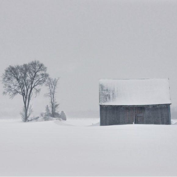 Isolés par la tempête de neige