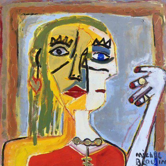 Femme aux bijoux