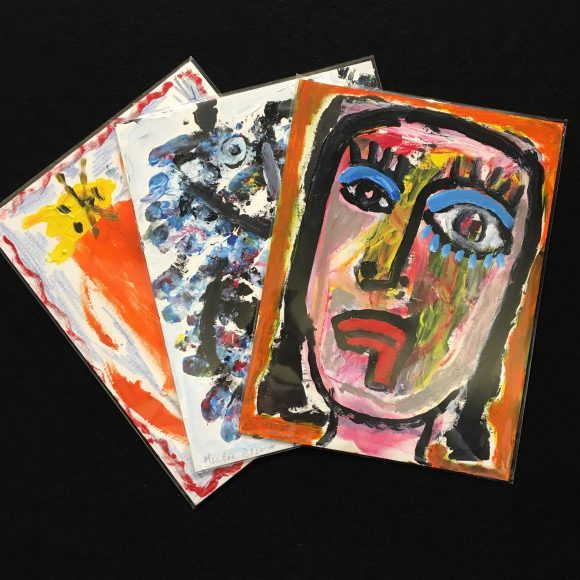 Œuvres papier – Michel Blouin