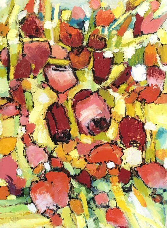 Fouillis fleuri
