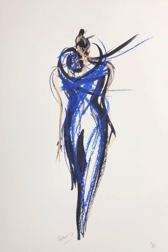 Le mimosa bleu