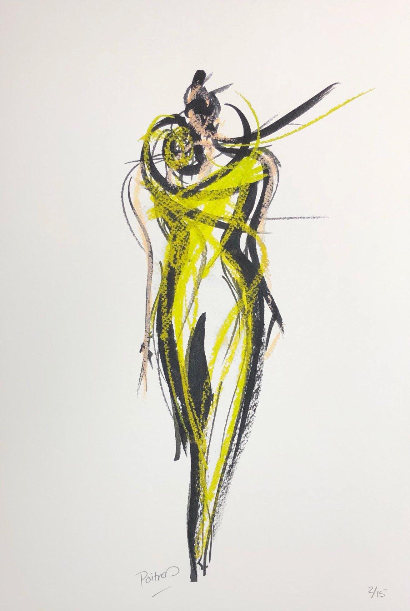 Le mimosa vert