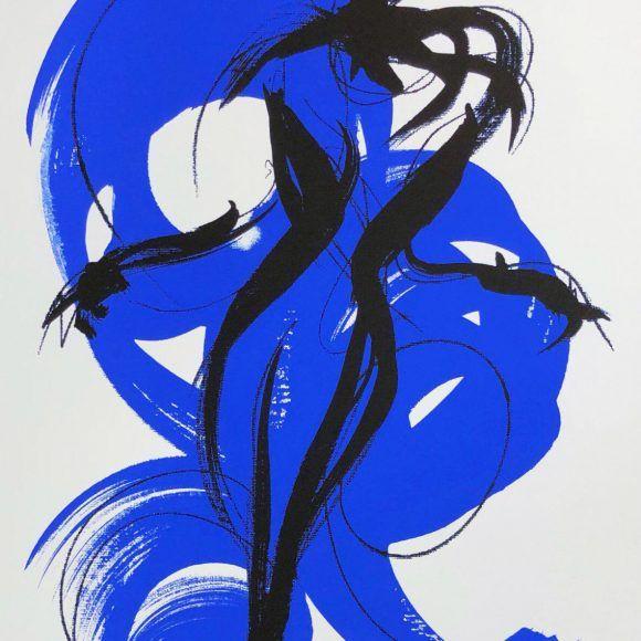 Nager dans le bleu