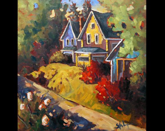 Les trois maisons