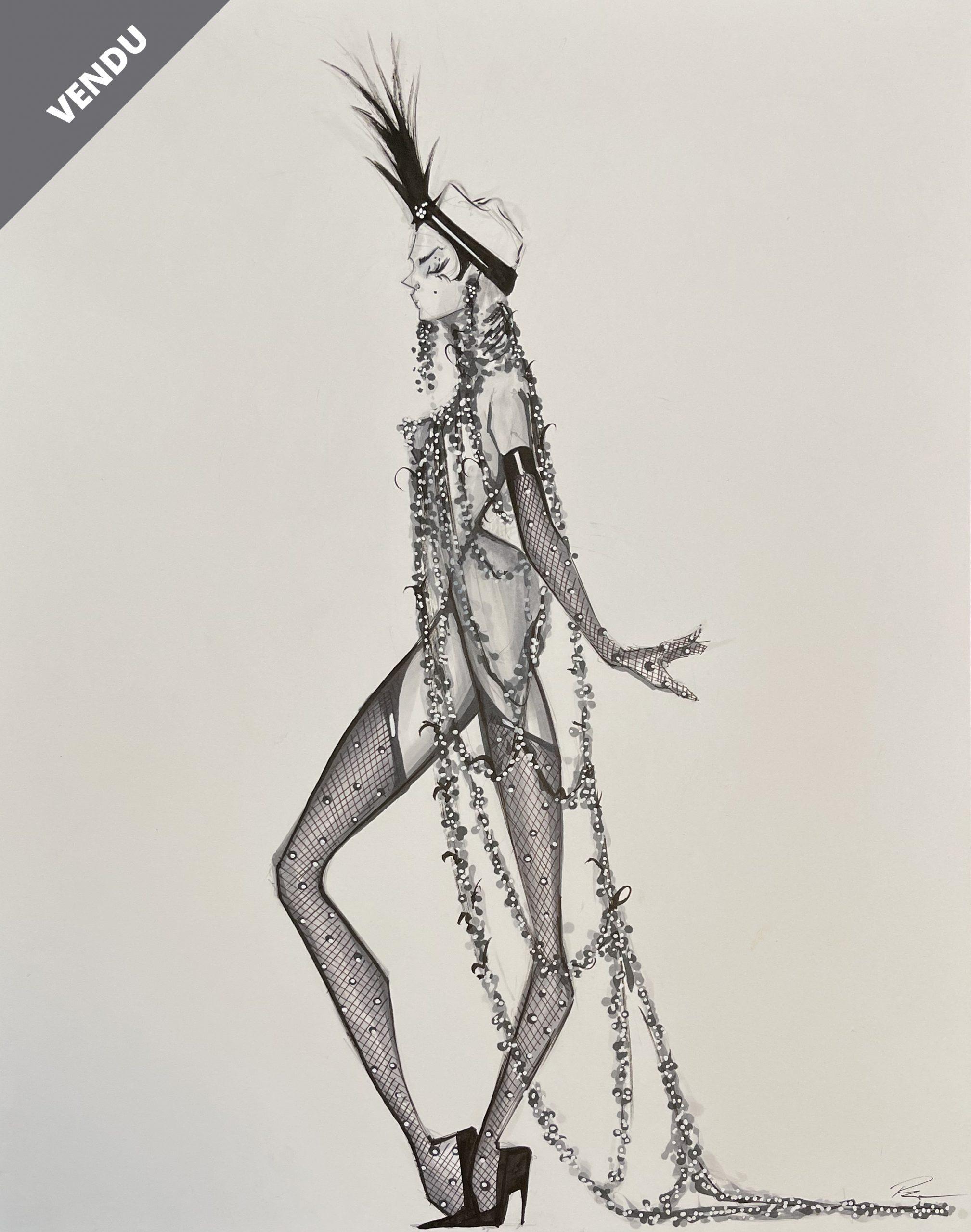 20's Showgirl – VENDU