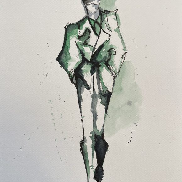 Green FENDI – VENDU