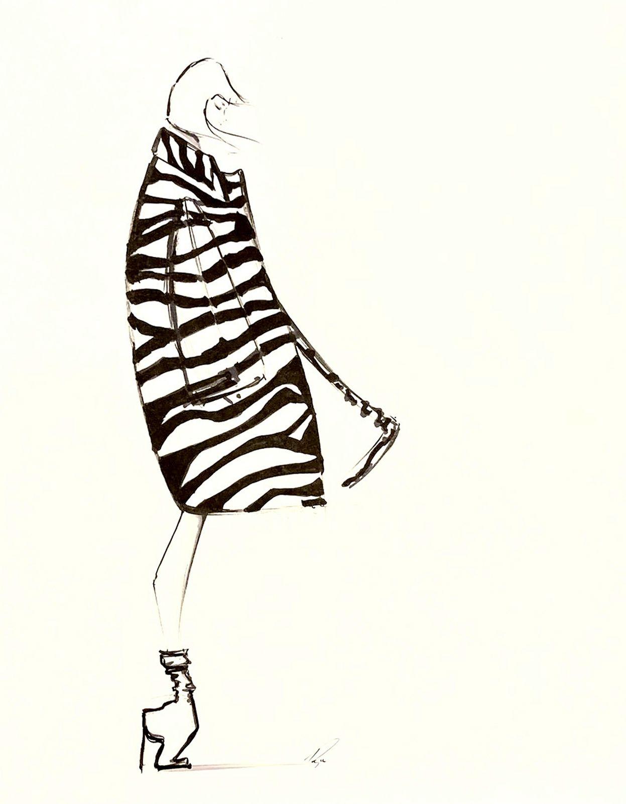 Marc Jacobs Zebra – SOLD