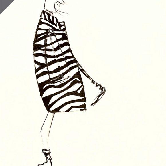 Marc Jacobs Zebra – VENDU
