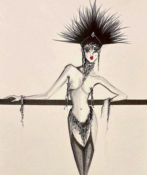 Waiting Showgirl I