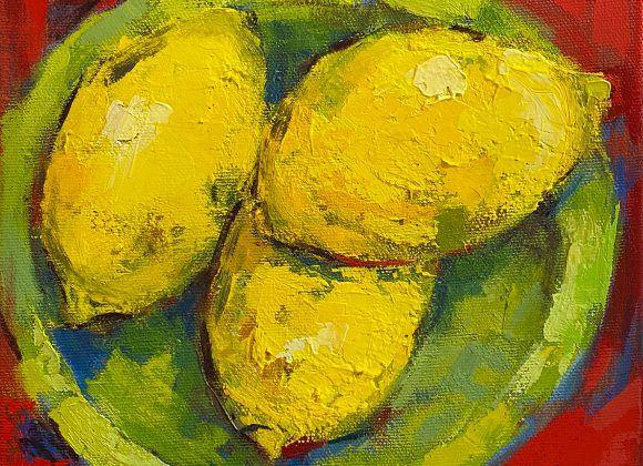 Citrons en trio