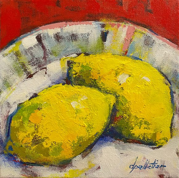 Duo citronné – VENDU