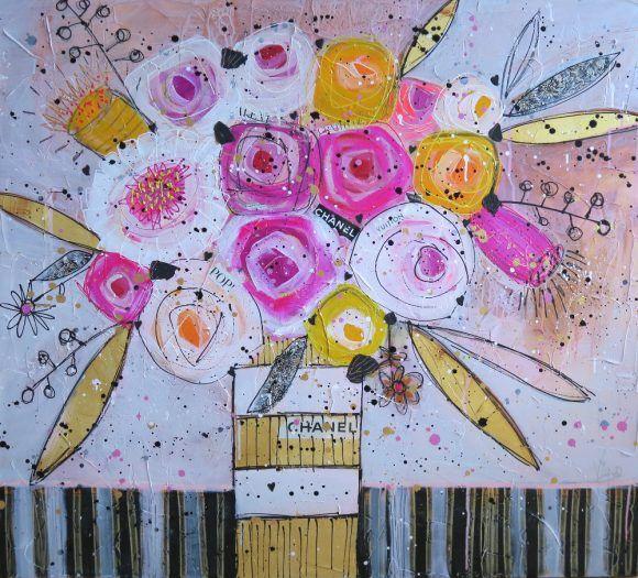 Bouquet griffé