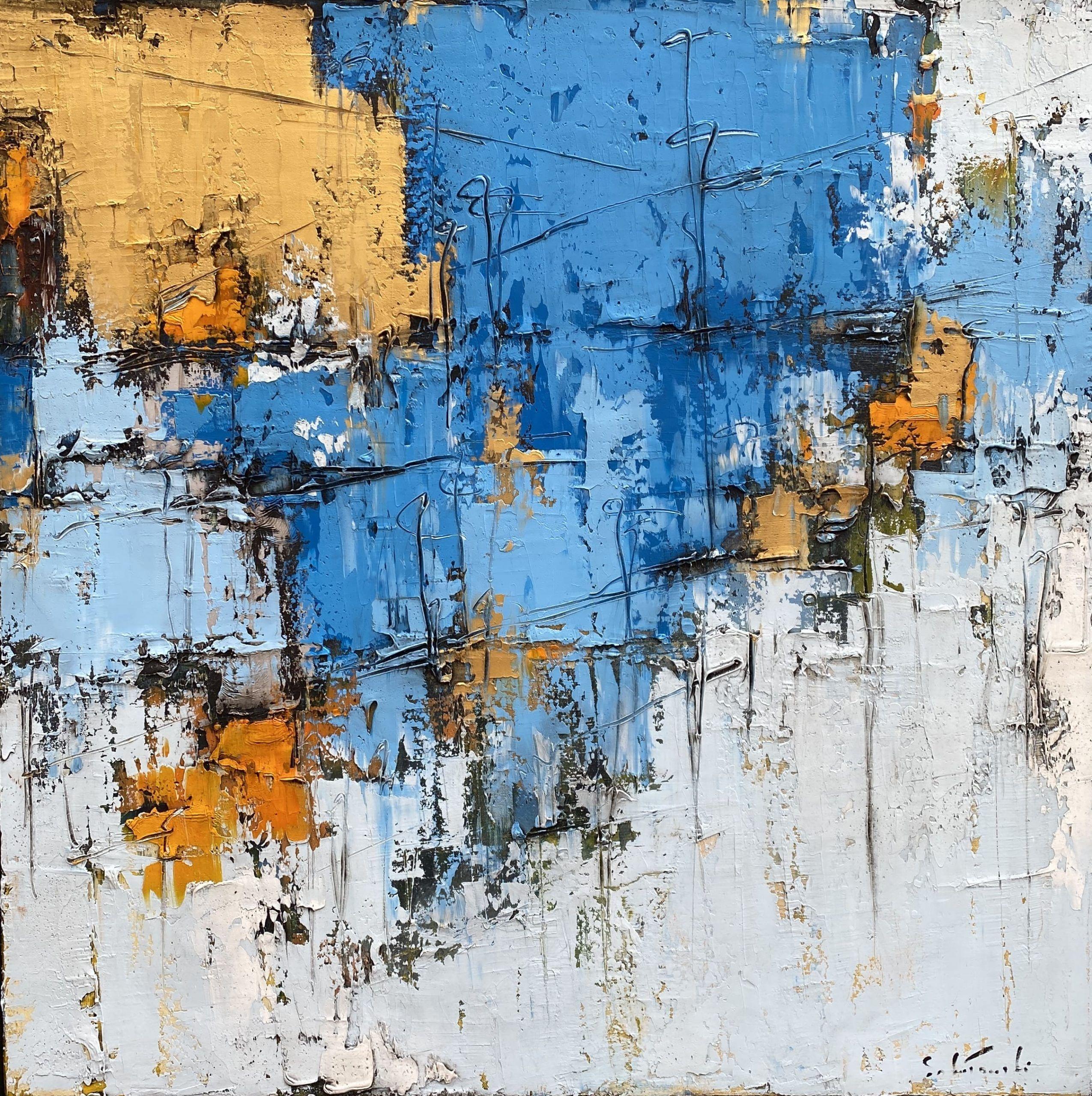 Composition bleu #3 – VENDU