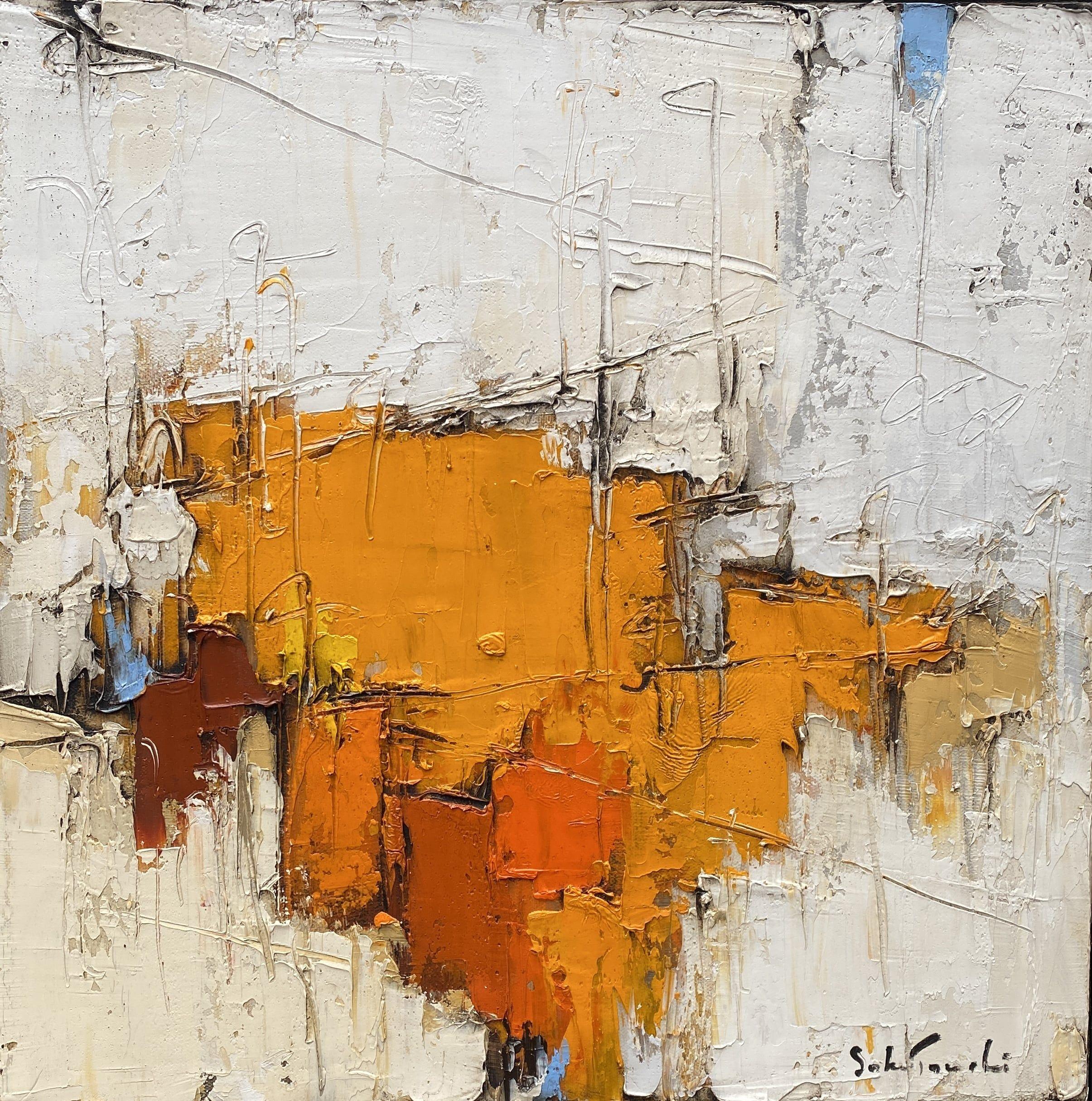 Composition jaune #13 – VENDU