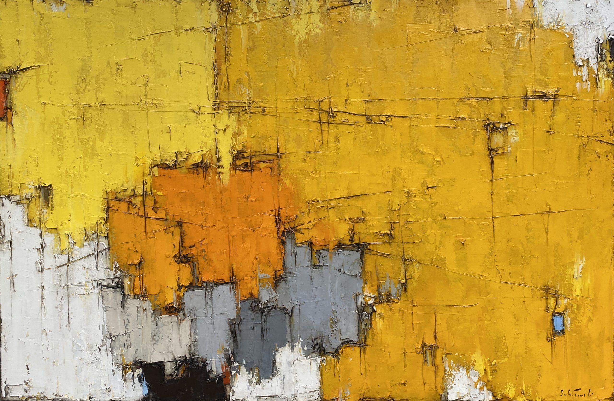 Composition jaune #5 – VENDU