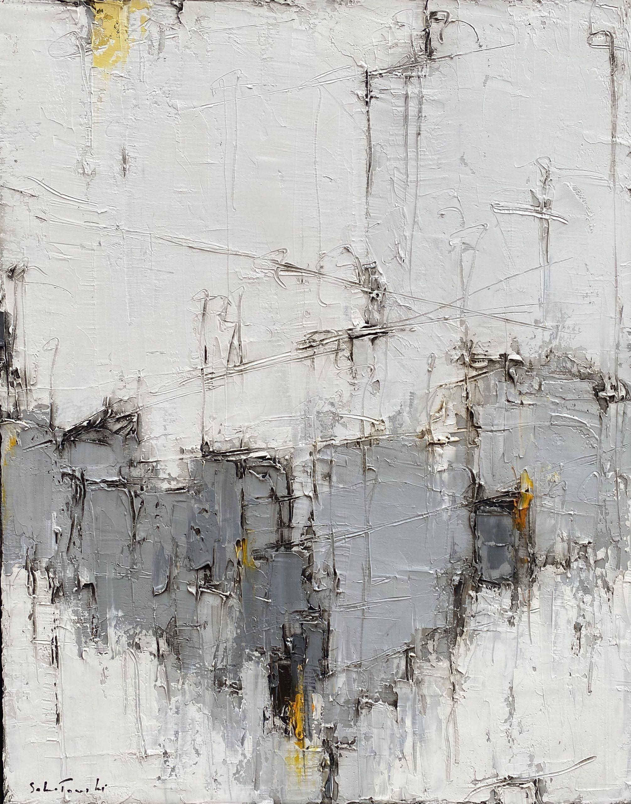 Composition noir et blanc #2 – VENDU