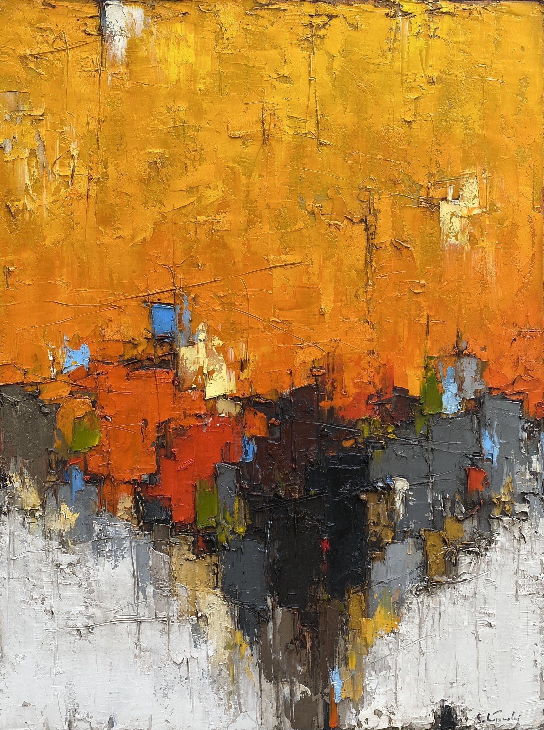 Composition orange #3 – VENDU